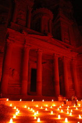 Treasury by candlelight