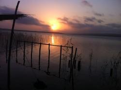 Zonsondergang in Quisico