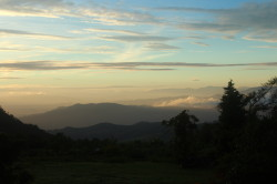 Zonsondergang in Bvumba