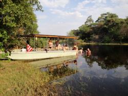 Chillen in de rivier